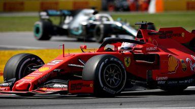 Vettel's radio outbursts