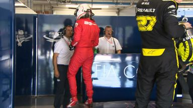 Vettel storms off