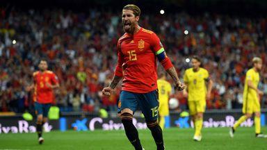 Spain 3-0 Sweden