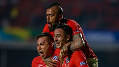 Reigning champs Chile thrash Japan