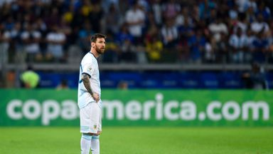 Argentina on brink of Copa exit