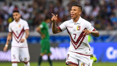 Venezuela reach Copa quarters