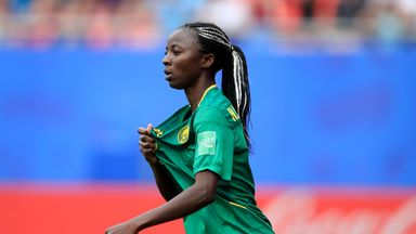Cameroon's Nchout: Ref was not good