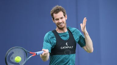 Murray: I feel lucky to be back