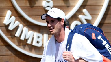 Murray still plans to play Wimbledon mixed