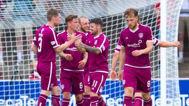 Arbroath beat Hearts in friendly