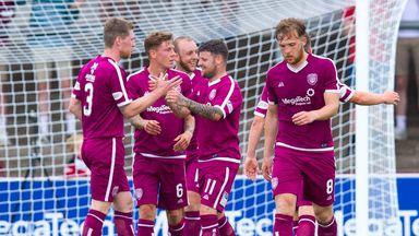 Arbroath beat Hearts in friendly