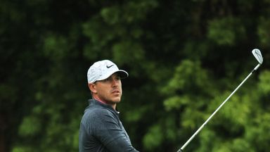 Koepka happy with position