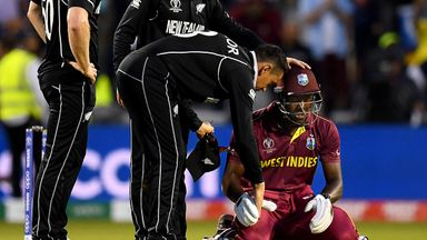 CWC highlights: WI vs New Zealand