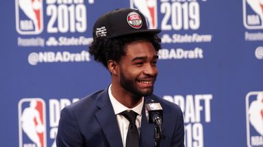 White in awe as team-mate drafted