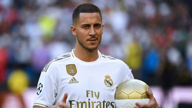 Hazard 'like a kid' after Real move