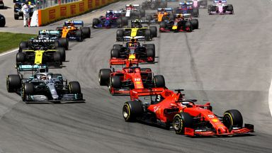 Canadian GP: Opening lap
