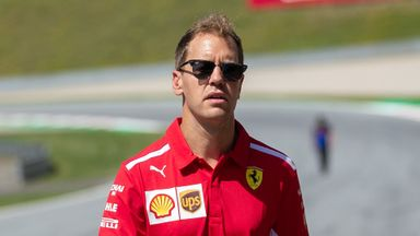 Vettel: I don't look back, I look forward