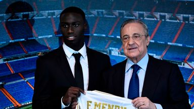 Real Madrid present Mendy