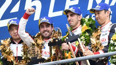 Alonso wins Le Mans & Endurance title