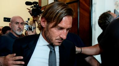 Totti hits out at Roma owners