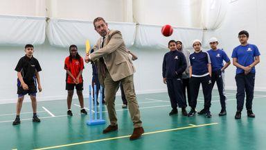 New Urban Cricket Hub opens