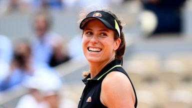 'Konta's French run was a matter of time'