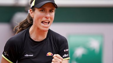 Konta: I can win a Grand Slam