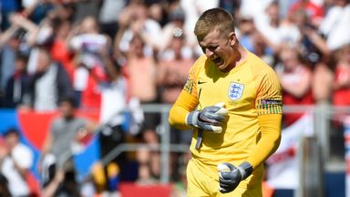 'Pickford is still England's No 1'