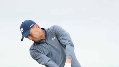 Spieth stunned by hidden rake!