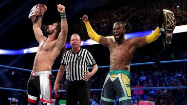 Rollins & Kofi win 2-out-of 3 Falls Match
