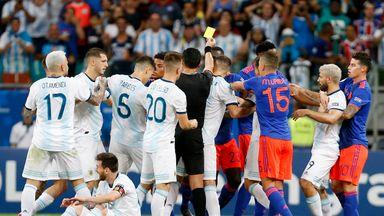 Colombia stun Argentina at Copa America
