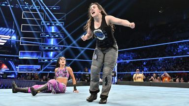 Nikki Cross defeats Bayley for Bliss