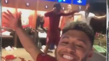 Van Dijk's dance-off with the Ox