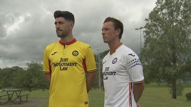 Partick unveil LGBT away shirt