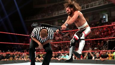 Rollins sends painful message to Corbin!