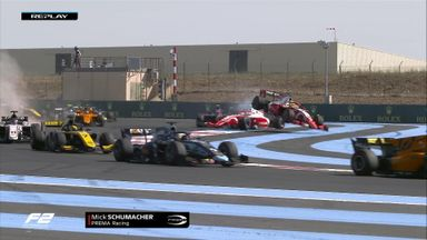 F2: Schumacher sent flying