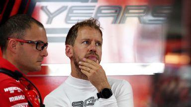 What's up with Sebastian Vettel?
