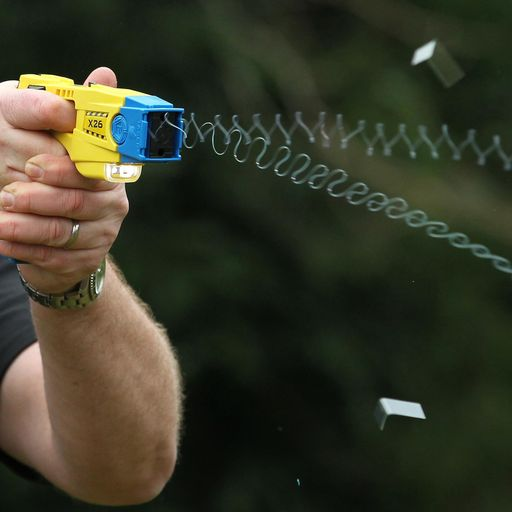 Police fired Tasers at children as young as 13