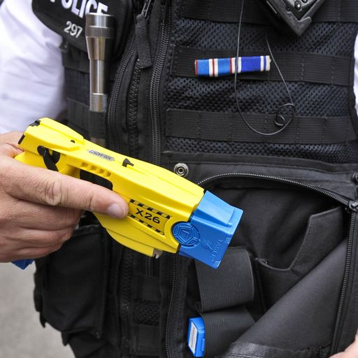 How old were the targets of police Tasers in your area?