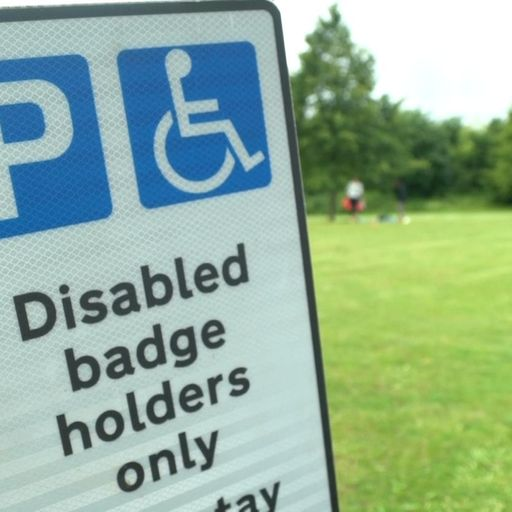People with 'invisible' disabilities can now apply for blue badge parking permits