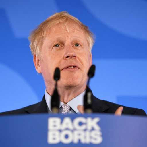 Boris Johnson comfortably wins first ballot of Tory leadership contest
