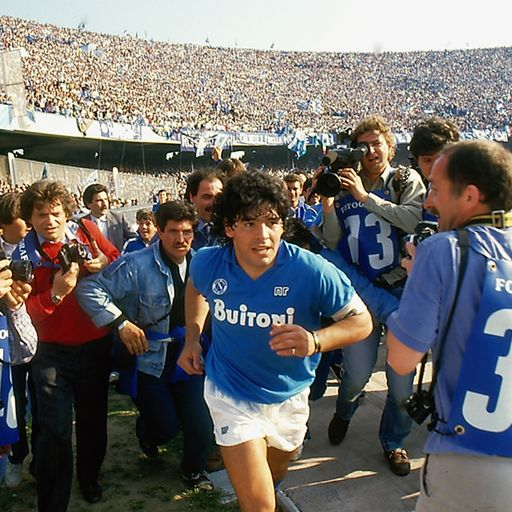 'Diego Maradona's biggest battle was always with himself'