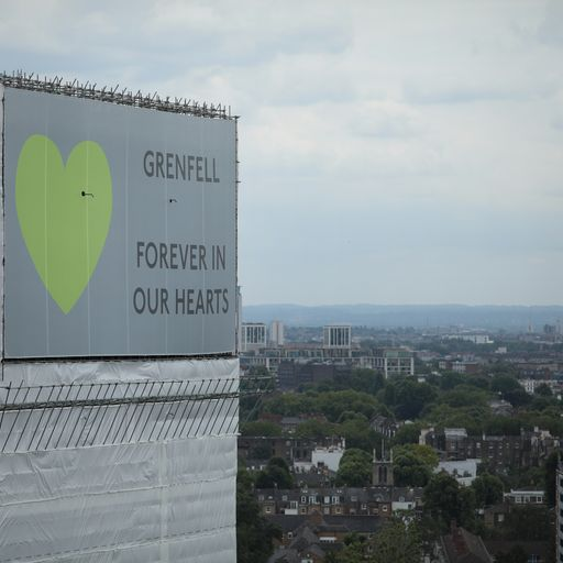 Grenfell Tower: Survivors and families sue three US companies over deadly fire