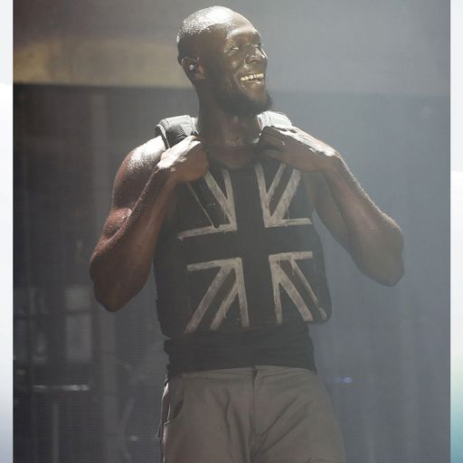 Banksy reveals he made Stormzy's vest for historic Glastonbury gig
