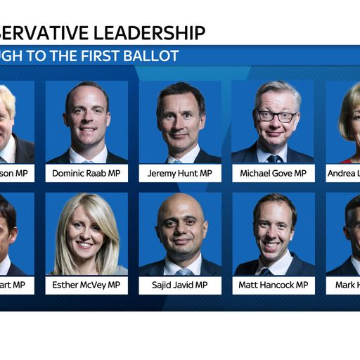 Race to No 10: The Tory leadership candidates
