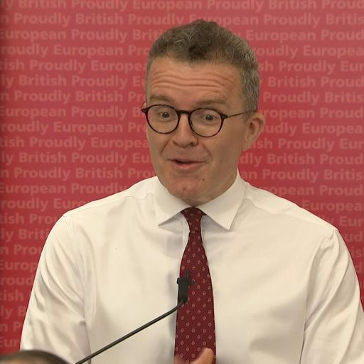 Brexit: Labour's Tom Watson calls for second referendum