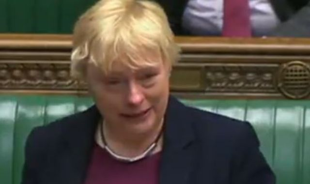 Angela Eagle in tears as she tells LGBT protesters: 'We are not getting back in the closet'