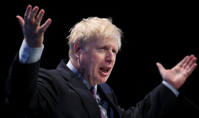 Boris Johnson's row with girlfriend irrelevant to his suitability as PM - Sky Data poll