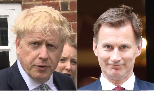 Boris Johnson lays down gauntlet to Jeremy Hunt after rival mocks Sky News debate no-show