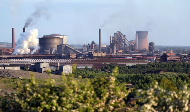 British Steel: Up to 500 jobs to go as unions strike deal with China's Jingye