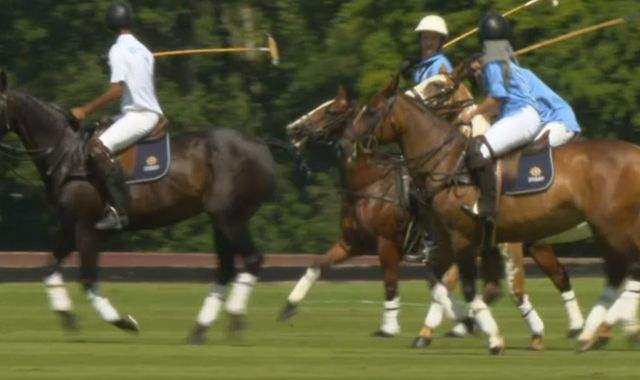 Brixton youngsters show off their polo skills during Royal Windsor Cup