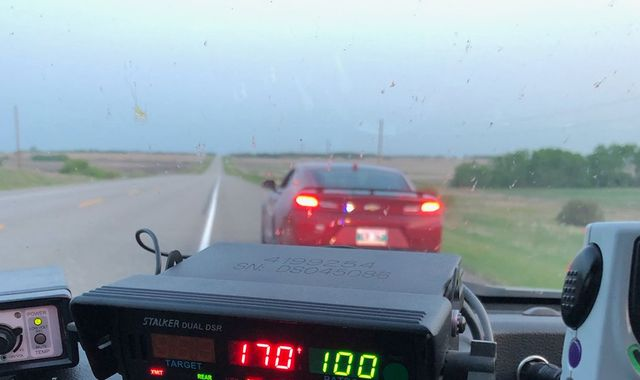 Teen caught speeding at 106mph 'needed bathroom after too many hot wings'