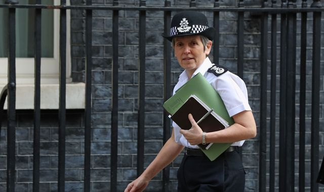 Metropolitan Police chief says she looked into Tory contenders' drug admissions