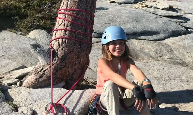 Girl, 10, is youngest person to climb 7,500ft El Capitan